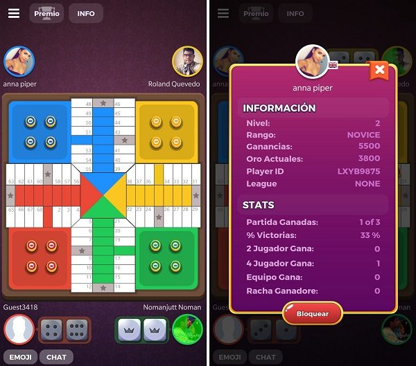 parchis star tablero