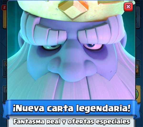 Fantasma real, cómo adquirir la nueva carta legendaria de Clash Royale