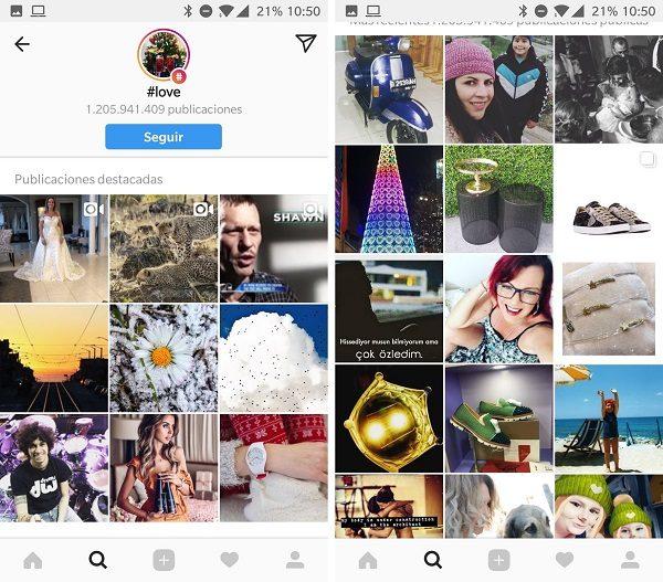 love hashtag instagram