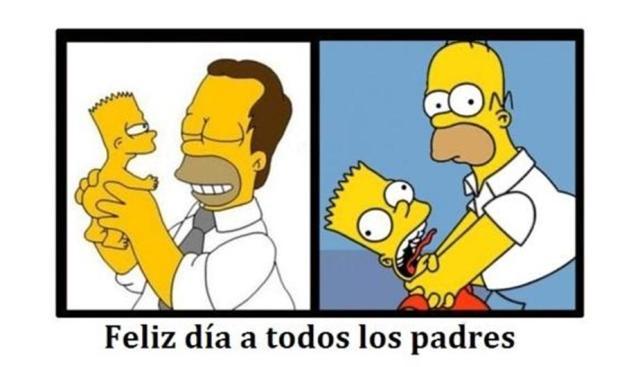 Homer dia del padre