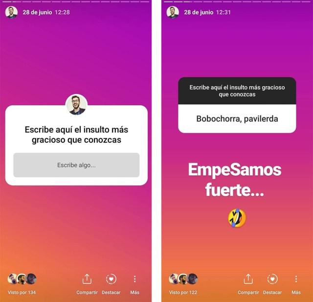 Los Mejores Juegos Para Usar Los Stickers De Preguntas De Instagram