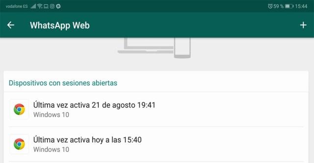 WhatsApp wéb hackeo