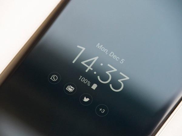 android 7 samsung galaxy s7 always on display