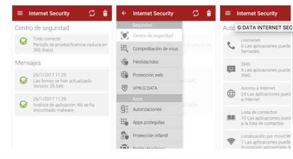 G Data antivirus Android