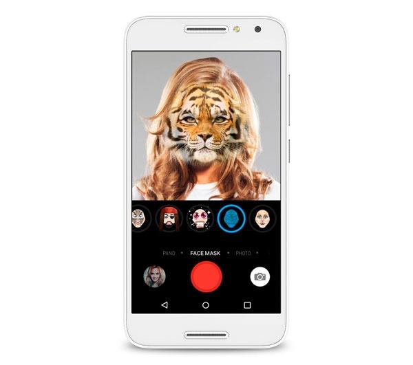 caracteristicas clave Alcatel U5 4G selfies
