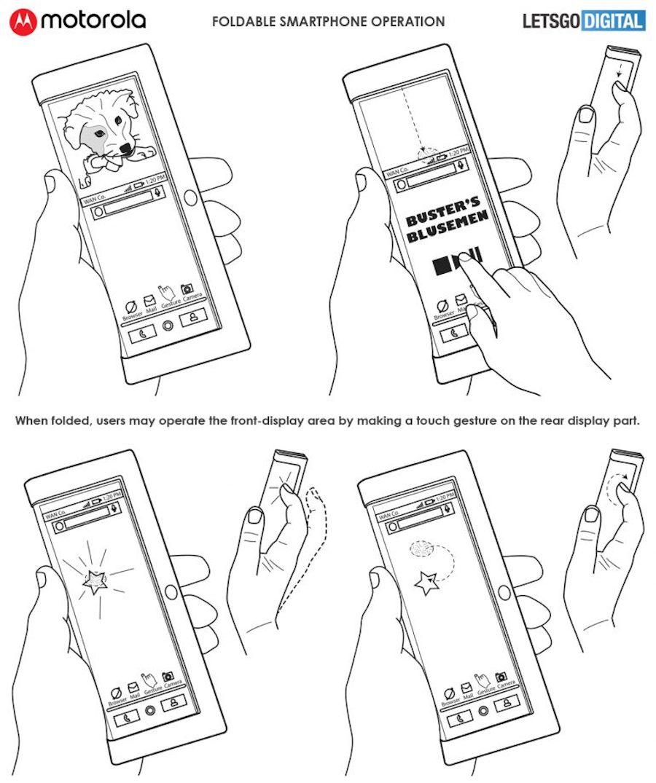 Así podría ser el móvil plegable de Motorola, el Motorola RAZR