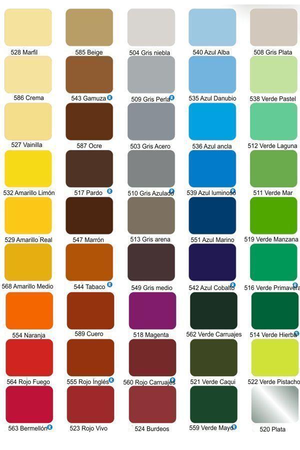 Cartilla de colores alba para interiores  Imagui