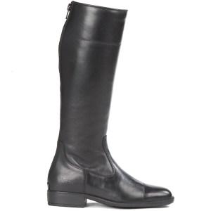 a black sandown racing boot