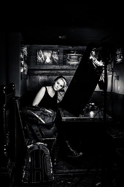 Portrait of Zoe Rain by photographer Tuffer