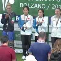 FINA Diving GP: Bolzano – finali 1a giornata: argento per le supermamme Cagnotto-Dallapè, bronzo ai fratelli Verzotto
