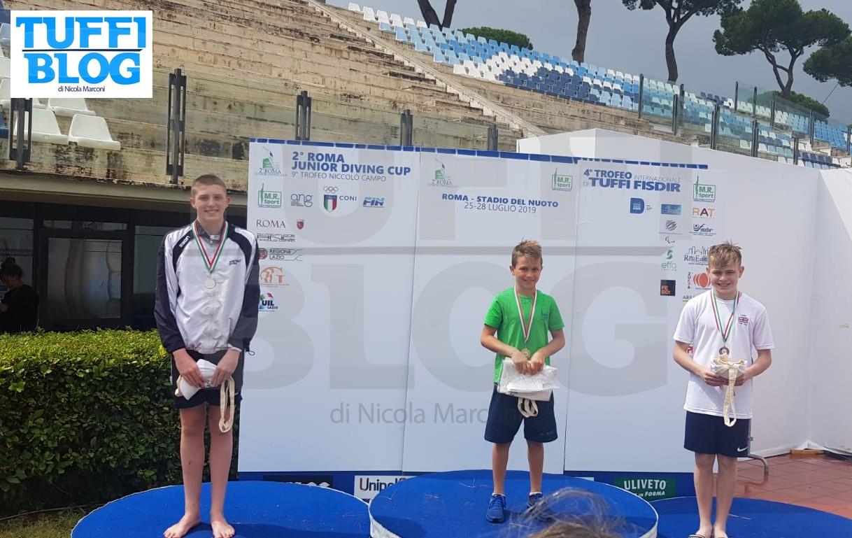 Roma Junior Diving Cup: i risultati della terza e ultima
