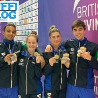 British Diving Championships: Plymouth – oro Bertocchi-Pellacani, argento Larsen-Timbretti, Marsaglia sesto