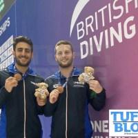 British Diving Championships: Plymouth - Marsaglia-Tocci terzi nel sincro
