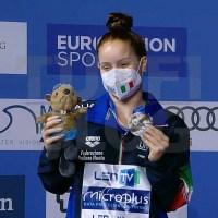 Campionati Europei: Budapest - ancora Pellacani, è ARGENTO da 3 metri!