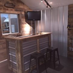 Old Wood Chairs Desk Attached To Chair Design A Man Cave Worthy Of Grunt - Tuff Shed
