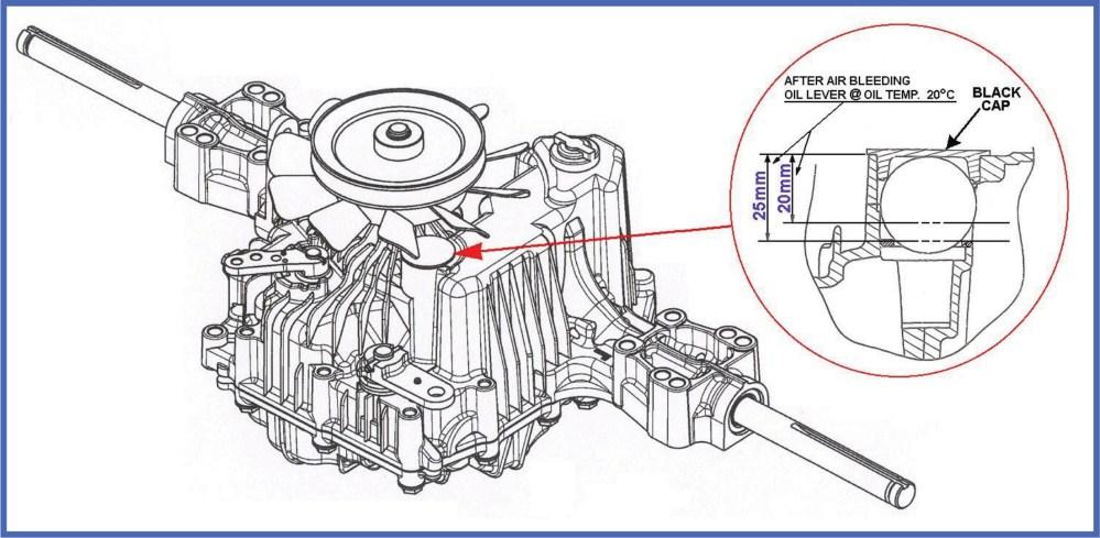 medium resolution of tuff torq oil service procecdure diagram