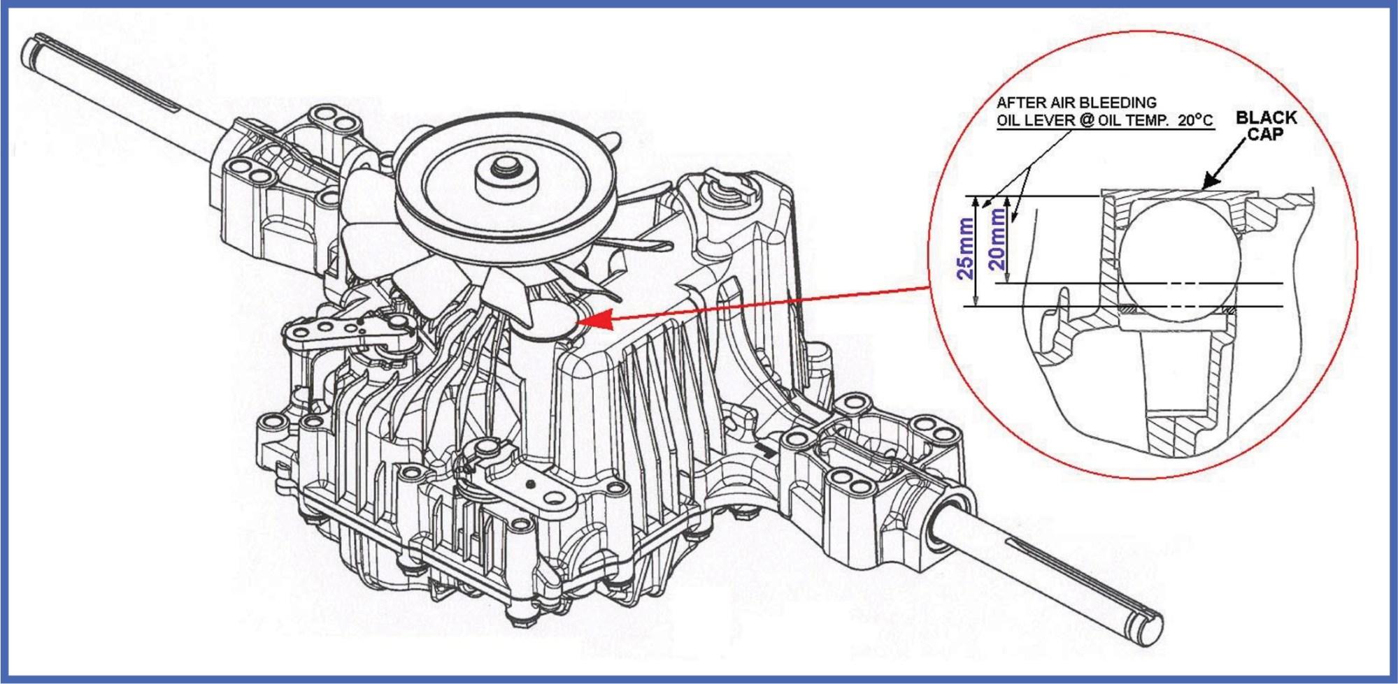 hight resolution of tuff torq oil service procecdure diagram