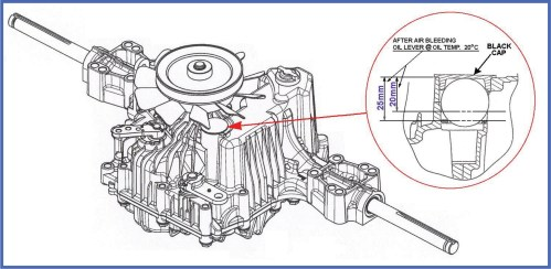 small resolution of tuff torq oil service procecdure diagram