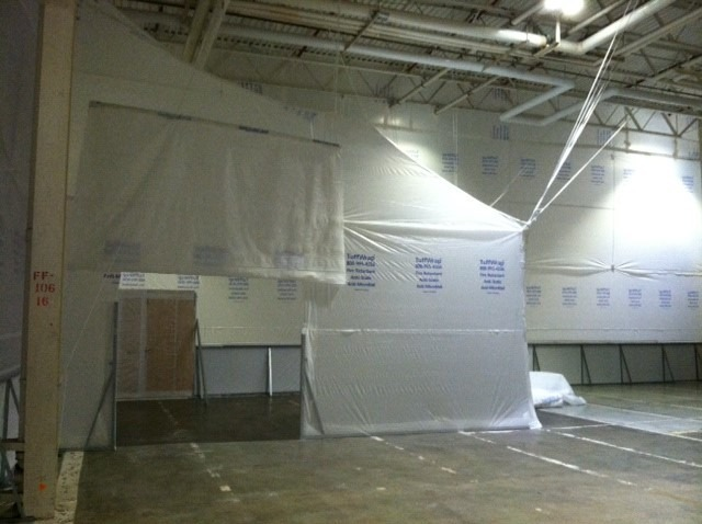 Interior Protection for Food Processing Facility Preventing Cross Contamination