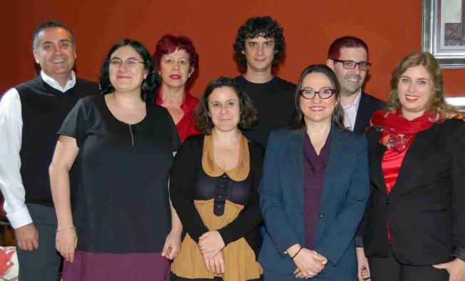 TODO EL STAFF 2012-1 CHAVE