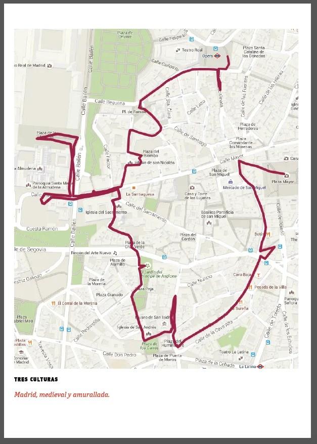 Plano del recorrido realizado.
