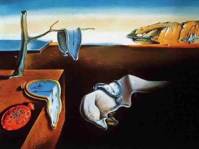 """""""La persistencia de la memoria"""", Salvador Dalí"""