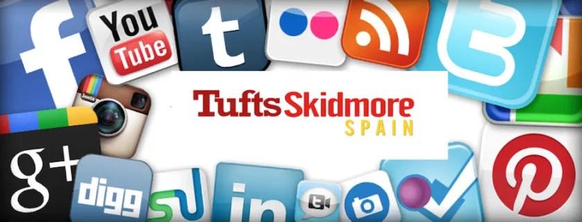 header social media
