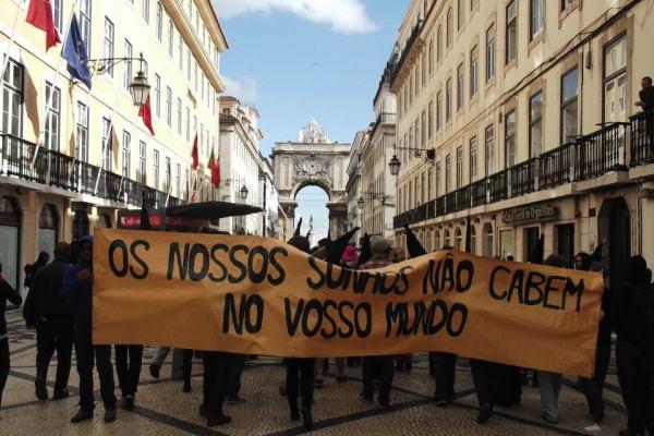 Manifestação RUA COM TODOS: PSP com tiques de censura