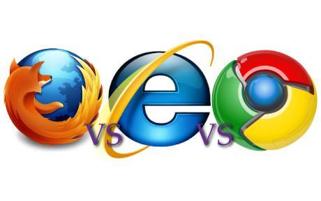FireFox vs IE vs Chrome
