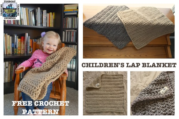 Childrens Lap Blanket Free Crochet Pattern Tugboat Yarning