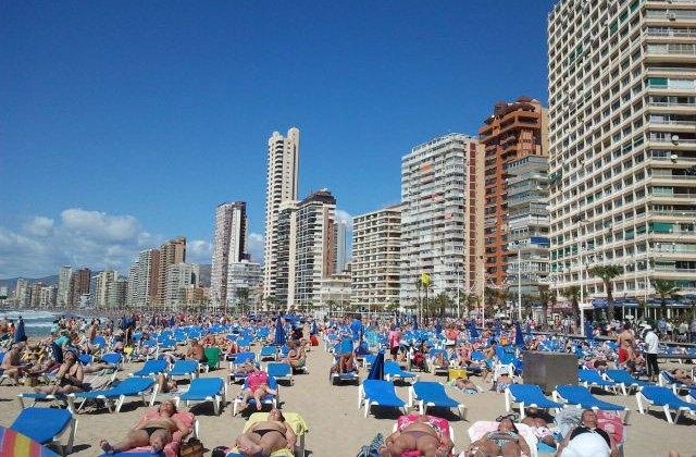 Playa de Levante, Benidorm. Foto (c) Javier Olivares
