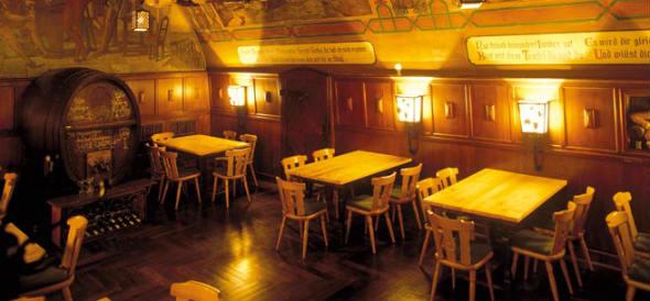 Interior del Auerbacks Keller de Leipzig. Foto Turismo de Alemania