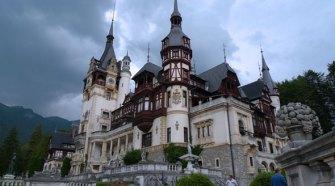 Fachada del palacio Peles de Sinaia en Transilvania, Rumanía. Foto de Ángel Ingelmo (c)