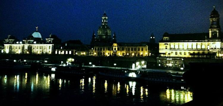 Dresde en la noche. Foto © Tu Gran Viaje