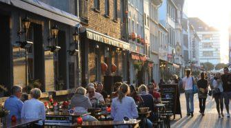Altstadt Andreasstrasse, Düsseldorf. Foto (c) Düsseldorf Tourismus