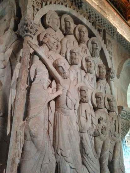 Claustro del Monasterio de Silos. Foto de Francisco Jódar