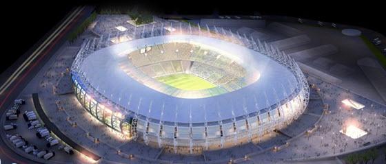 Estadio Castelao, de Fortaleza