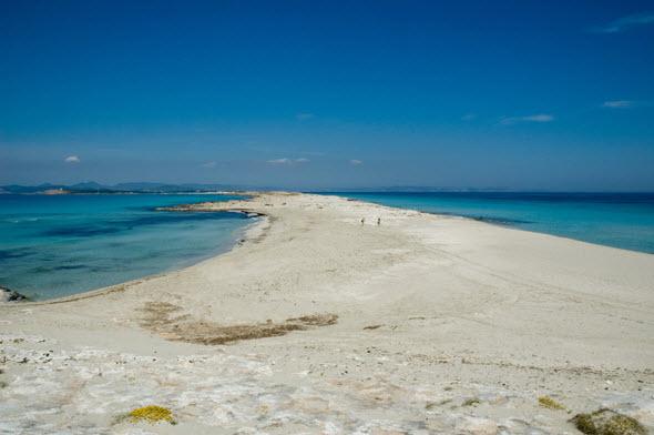 La playa de Illetes, en Formentera, es una de las mejores playas de España. Foto (c) Jorge Jiménez