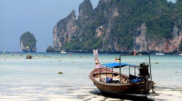 Las islas Phi Phi, en el Mar de Andamán de Taiiandia