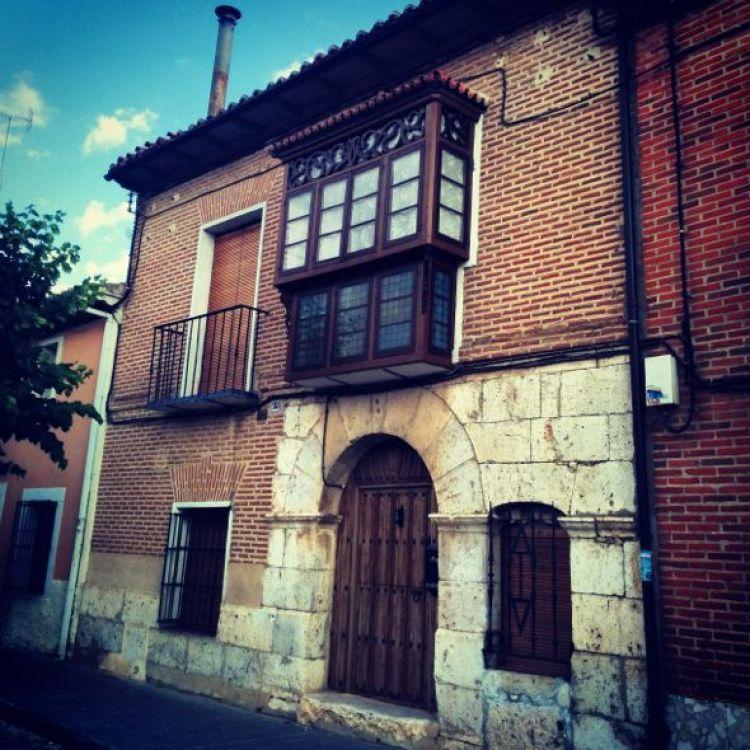 Una vivienda tradicional de Rueda, declarada Conjunto Monumental e Histórico Artístico de España