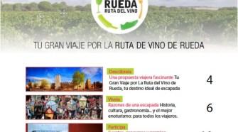 "Descarga gratis la revista ""Tu Gran Viaje por la Ruta de Vino de Rueda"""
