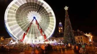 Mercadillo de Navidad de Lille, Francia