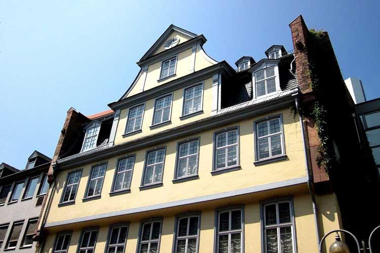 Casa de Goethe en Frankfurt