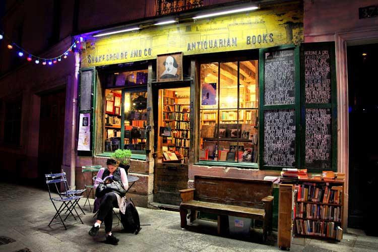 Librería Shakespeare and Co., París