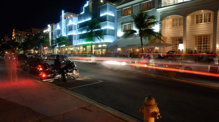 South Beach Ocean Drive Miami
