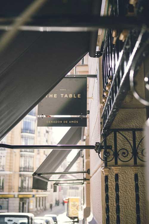 Entrada de The Table by Cenador de Amós. Foto ©Pablo Gómez Ogando