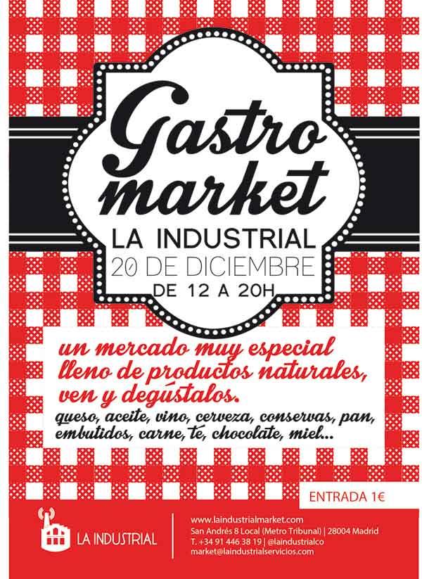 GastroMarket navideño de La Industrial