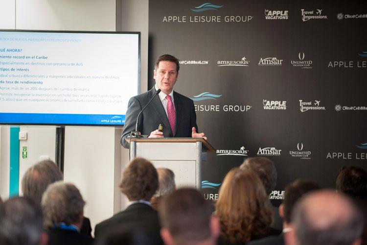 Javier Coll, Vicepresidente Ejecutivo y Director de Estrategia de Apple Leisure Group