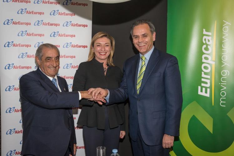 Europcar firma un acuerdo exclusivo con Air Europa por tres años