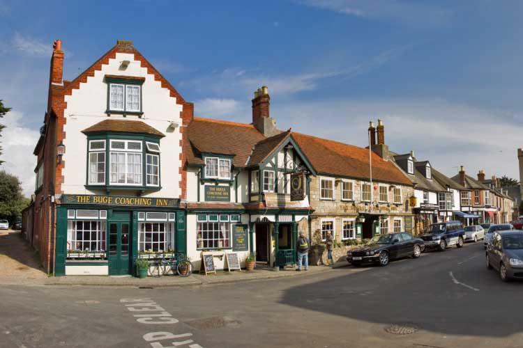 Pub en Yarmouth, Isla de Wight